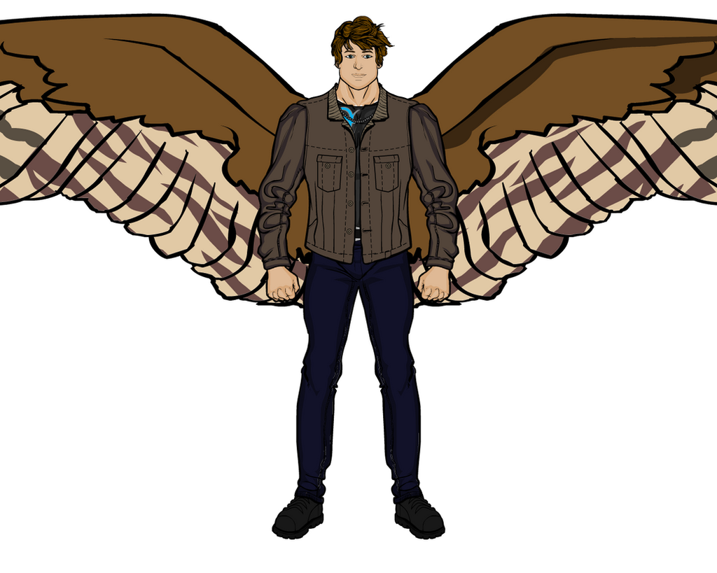 Maximum Ride OC: Daxton Ride by BryanTheBomb