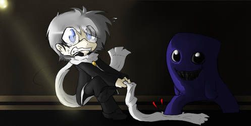 :Ao Oni: Scarf Troubles