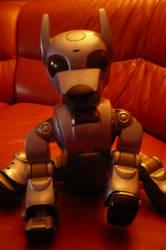 My old robot dog XD by tamufisi