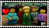 Little ninjas stamp by NinjaOfInfinity