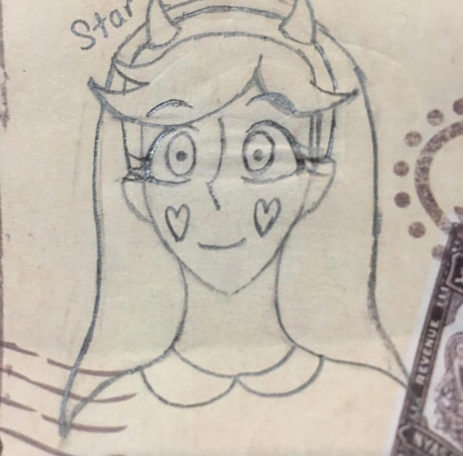 Star doodle by catmat1008