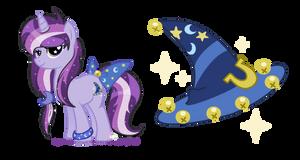 Starlight Charmer oc for raindasherponyartist by SugarMoonPonyArtist