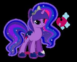 Moona Sparkle by SugarMoonPonyArtist