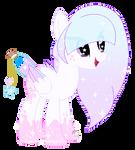 Dreamy Clouds Bottle wish pony oc