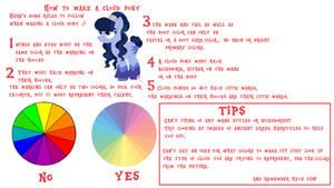 Cloud pony design rules