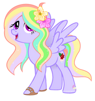 Oc makeover for featherblossomartist by SugarMoonPonyArtist