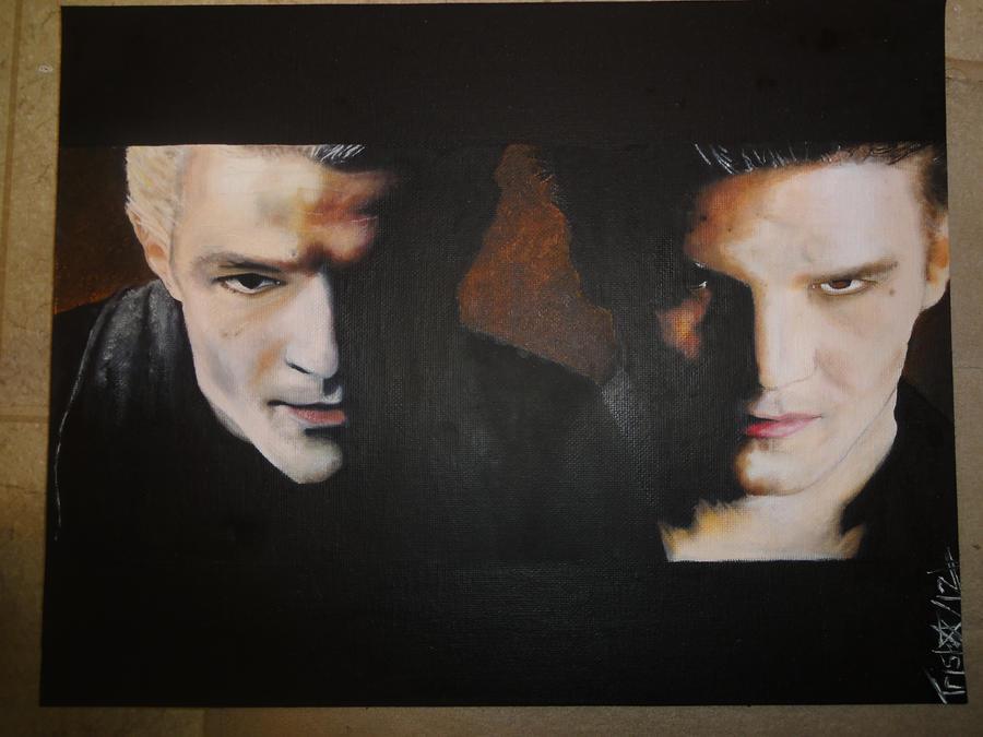 Spike And Angel Buffy By Acidic-Destruction On DeviantArt