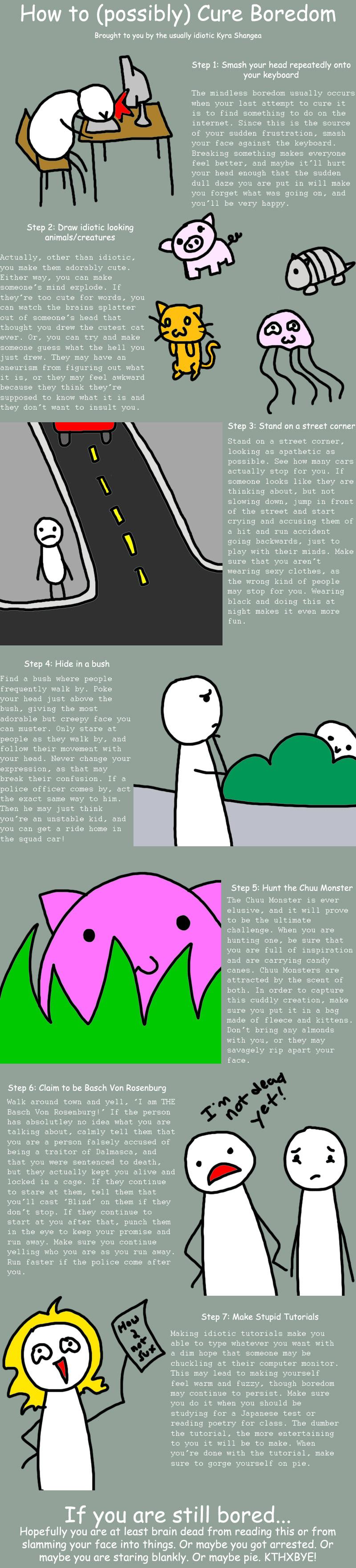 How to Cure Boredom by KyraShangea