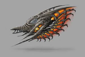 Organic Spaceship by axiom-concepts