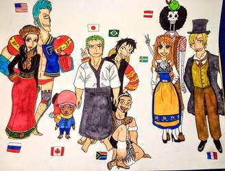 Mugiwara Nationalities