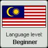 Malaysian Language Level (Beginner) by LukeinatorDude