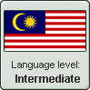 Malaysian Language Level (Intermediate) by LukeinatorDude