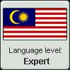 Malaysian Language Level (Expert) by LukeinatorDude