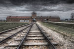 Auschwitz II Rails through Hell's Gate