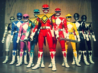 ULTIMATEfiguarts - S.H. Figuarts MMPR Collection by ULTIMATEbudokai3