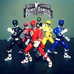 Mighty Morphin Power Rangers: The Movie figures