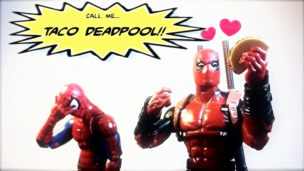 DEadPoOL - TACO DEADPOOL! by ULTIMATEbudokai3