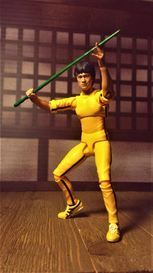 S.H. Figuarts Bruce Lee(Yellow track suit)