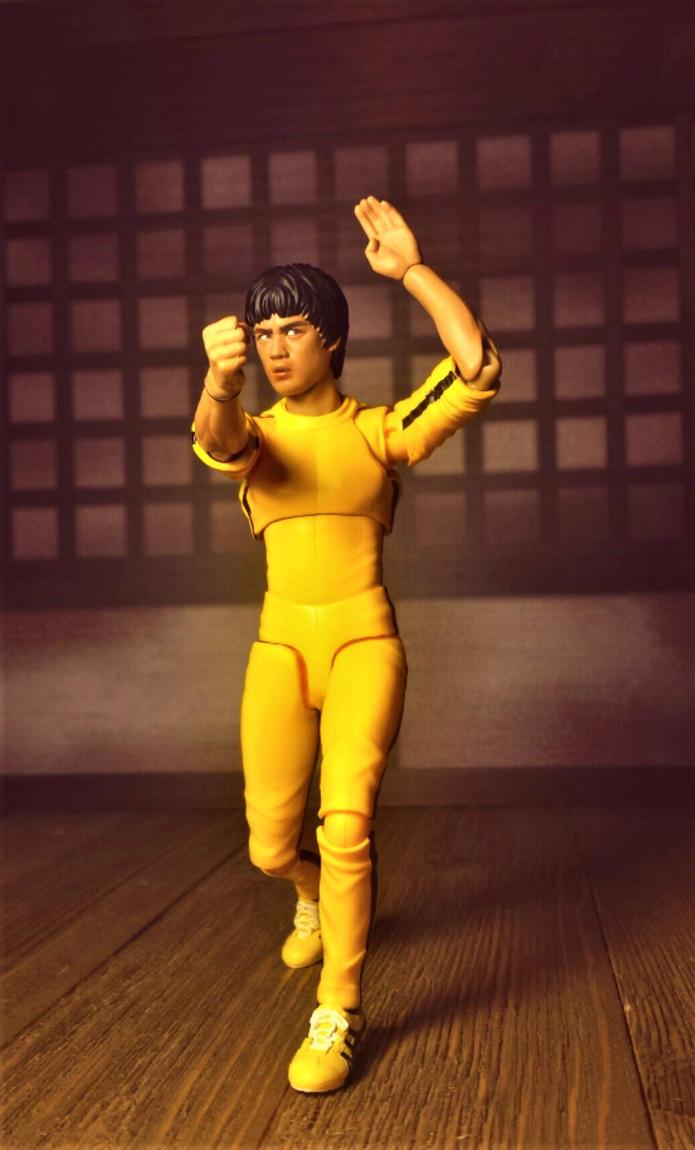 Bruce Lee in tracksuit 10 by ULTIMATEbudokai3