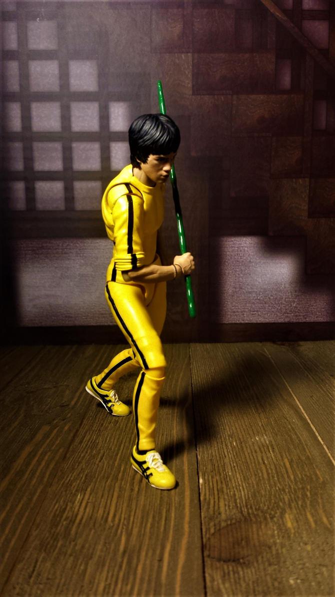 Bruce Lee in tracksuit 11 by ULTIMATEbudokai3