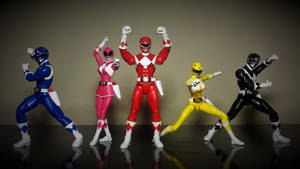 Power Rangers Legacy Collection - Original 5 MMPR by ULTIMATEbudokai3