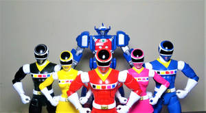 Power Rangers in Space by ULTIMATEbudokai3