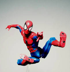 MAFEX - Amazing Spiderman (comic version) by ULTIMATEbudokai3
