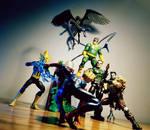The Sinister Six!!!!!! by ULTIMATEbudokai3