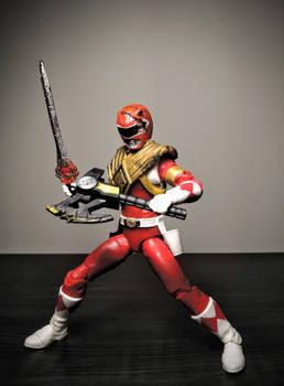 Battle Damaged Armored Red Ranger Jason