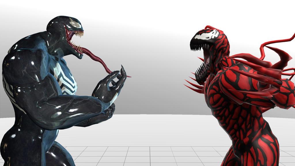 venom vs carnage by HIrashi679