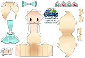 Princess Rosalina Papercraft by Ovelayotli
