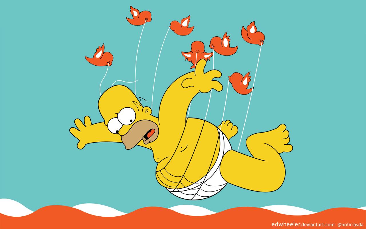 Homer the New Fail Whale