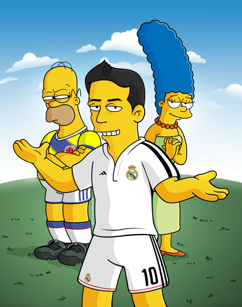 james_rodriguez_simpsons_by_edwheeler-d7