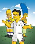 James Rodriguez Simpsons