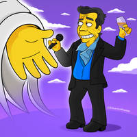 Juan Gabriel Simpsons