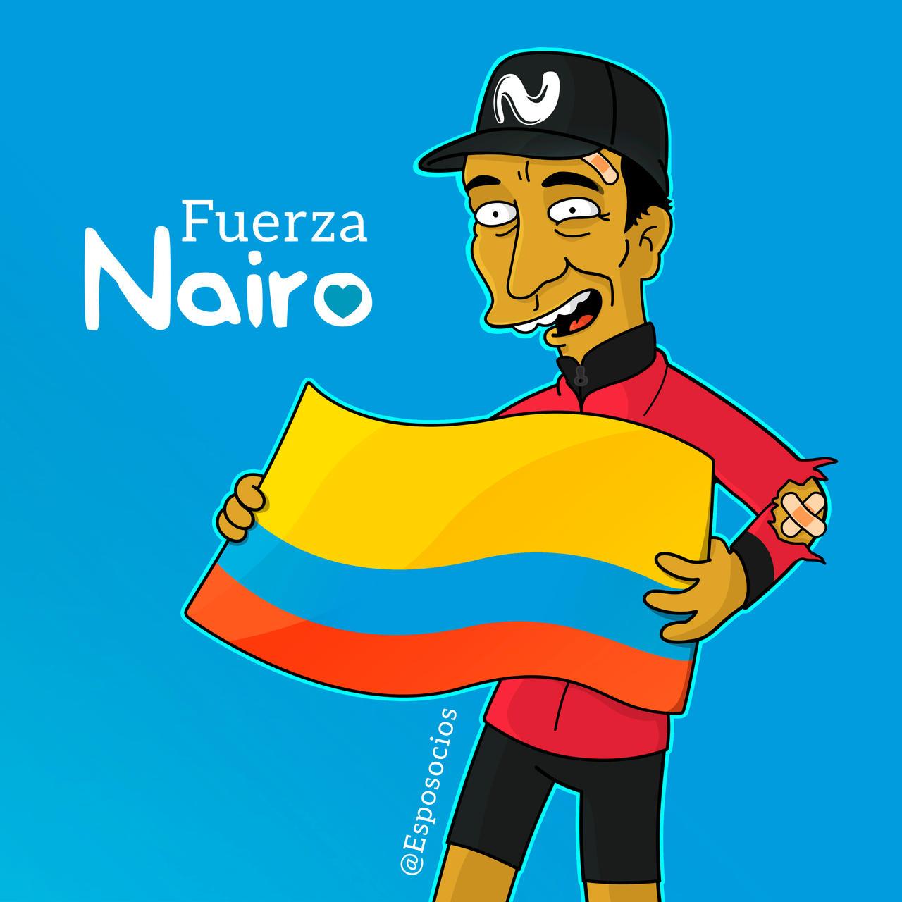 Nairo Quintana Simpsons