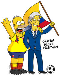 Jose Nestor Pekerman en los Simpsons