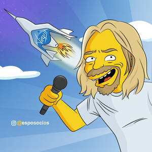 Sir Richard Branson Simpson