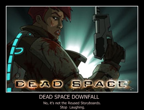 Dead Space Downfall Poster By Moonhowl123 On Deviantart