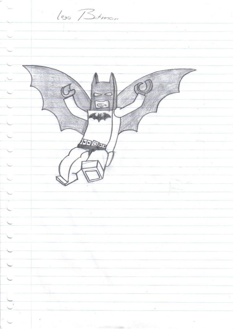 Lego Batman Sketch By Moniek-kuuper On DeviantArt