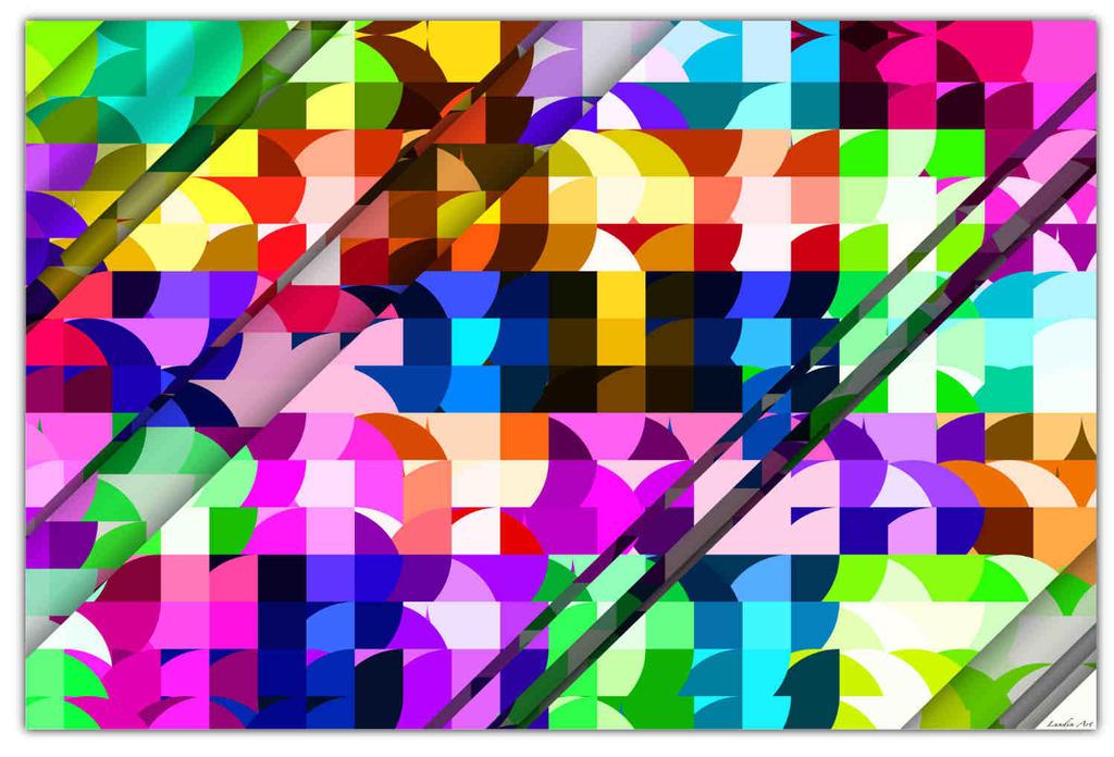 Cutted-in-stripes by JensLundin