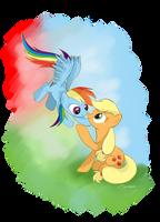 Apple Dash by AmethystHorn