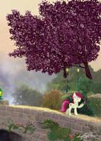 Roseluck in the garden