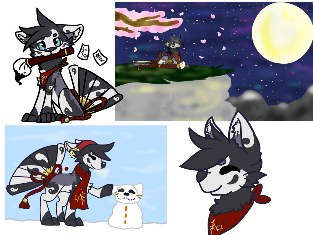 draw to adopt contest entry! :D by luna-howltothemoon