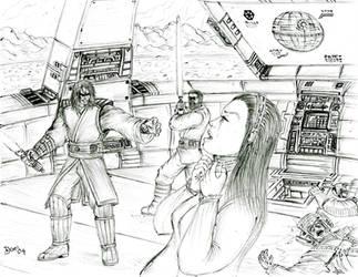 Anakin Kills Padme by KronnangDunn