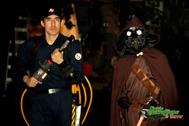 Real Ghostbuster and Original Star Wars character by KronnangDunn