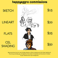 Commissions OPEN! - Five slots available!