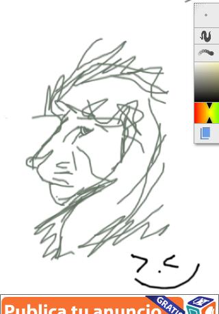 leon dibujo rapido by OSMUD