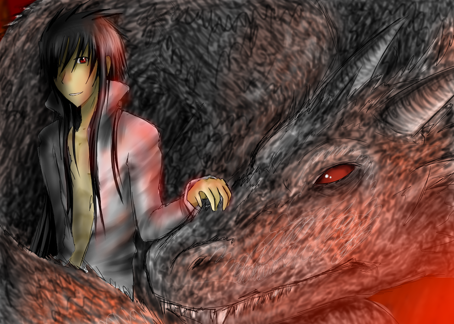 [Image: George_and_Dragon_by_MiharuWings.png]