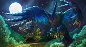 Monster hunter - Malfestio by Gabbybites